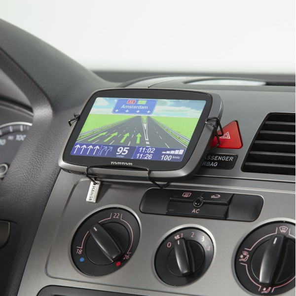 Navigation holder black